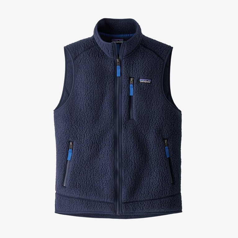 Patagonia Men's Retro Pile Vest  - New Navy