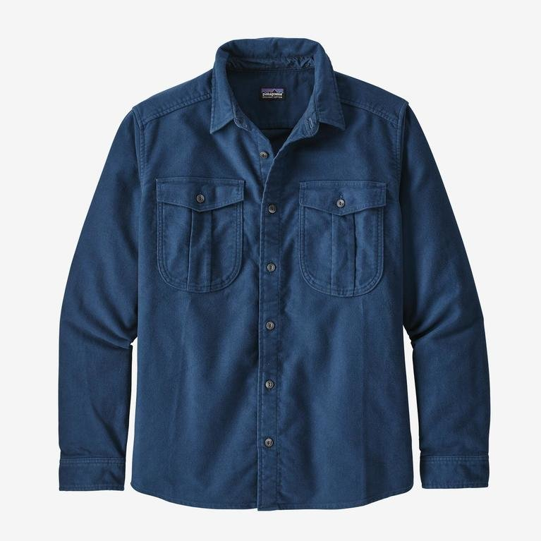Patagonia Men's Topo Canyon Shirt - Stone Blue