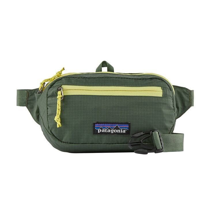 Patagonia Ultra Light Black Hole Mini Hip Pack 1Litre - Camp Green