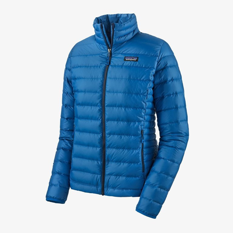Patagonia Women's Down Sweater Jacket  - Alpine Blue