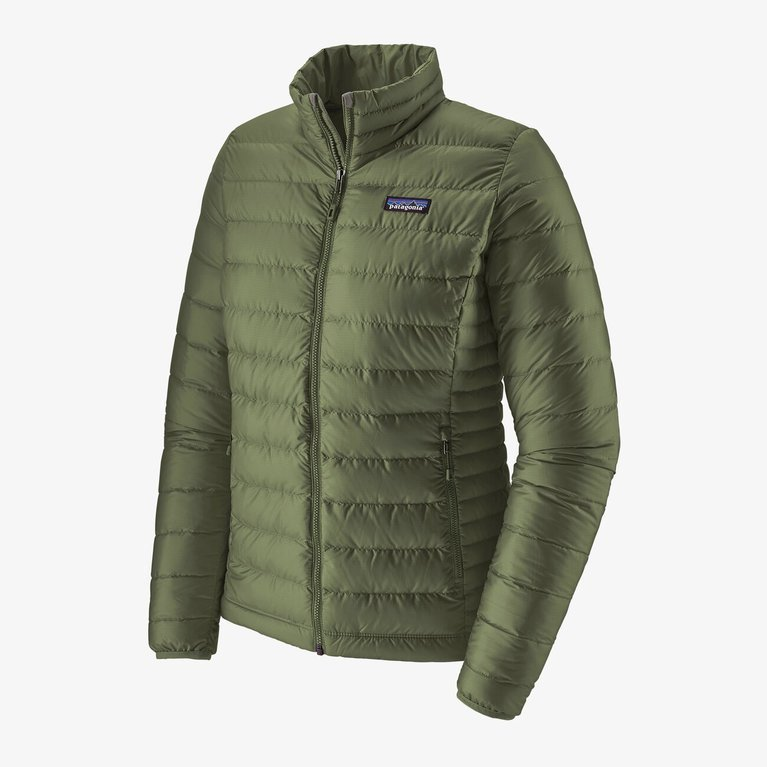 Patagonia Women's Down Sweater Jacket  - Camp Green