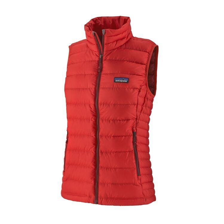 Patagonia Women's Down Sweater Vest - Catalan Coral