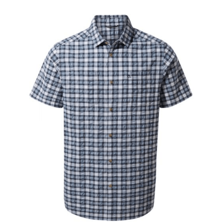 Craghoppers Pele Short Sleeve Shirt - Blue Navy