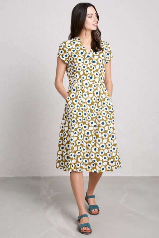 Seasalt Pencil Box Dress - S/F Pear