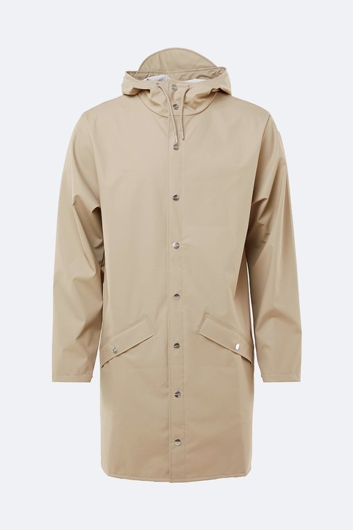 Rains Long Jacket 1202 - Beige