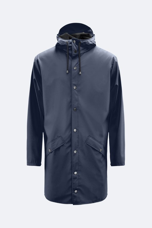 Rains Long Jacket 1202 - Blue