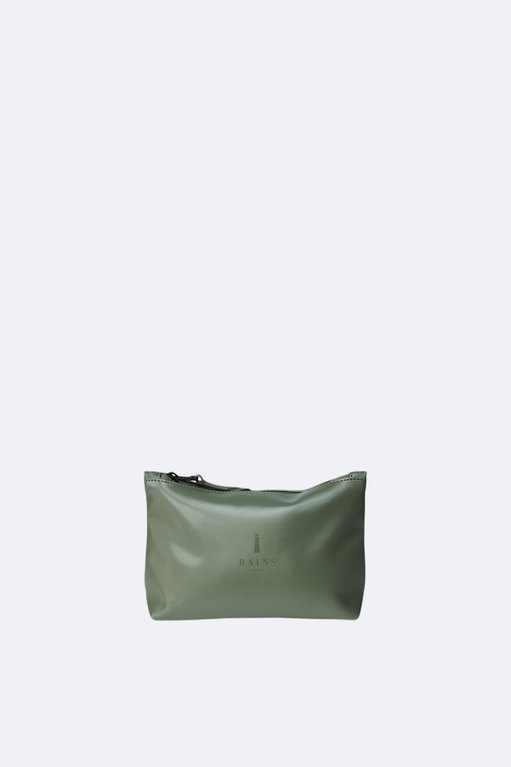 Rains Cosmetic Bag - Shiny Olive