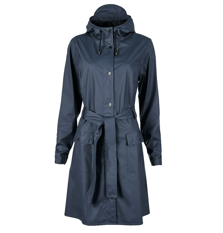 Rains Curve Jacket 1206  - Blue
