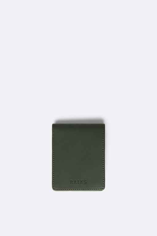 Rains Folded Wallet - Green