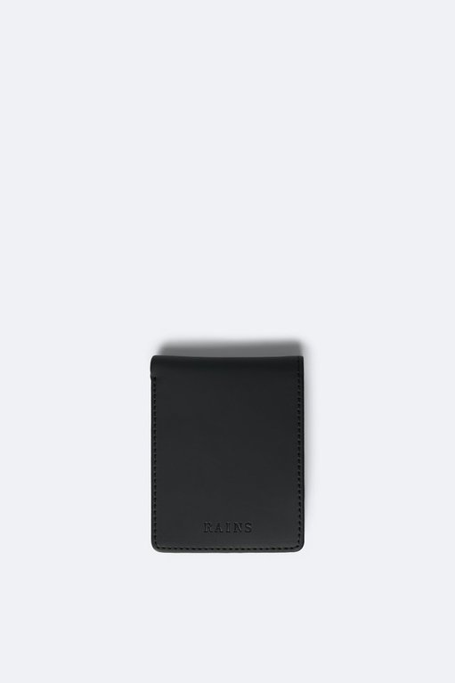 Rains Folded Wallet - Black