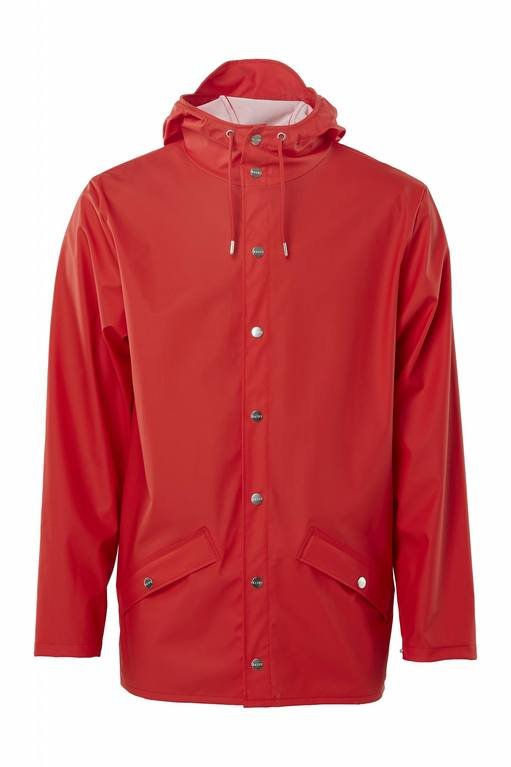 Rains Jacket 1201 - Red
