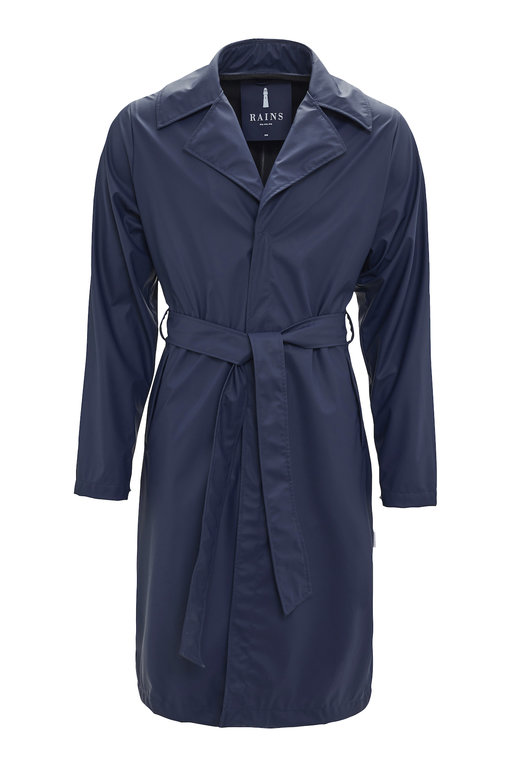 Rains Overcoat - Blue
