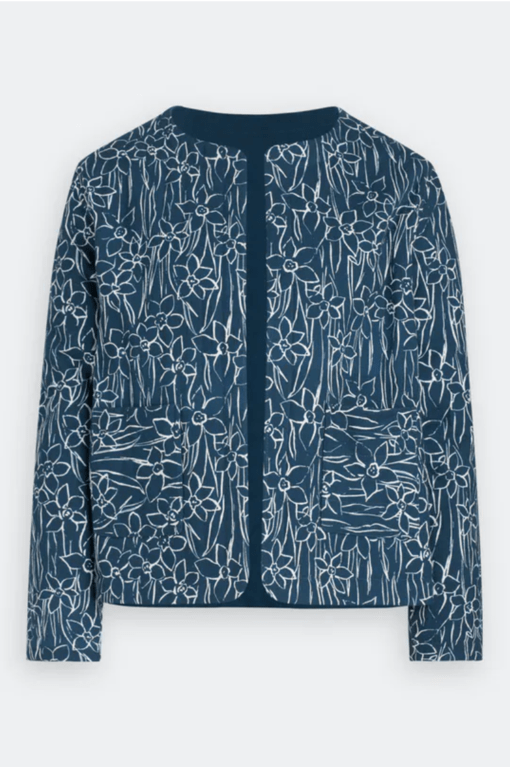 Seasalt Samson Hill Jacket  - Drawn Daffodil Harbour