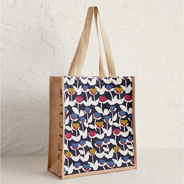 Seasalt Jute Shopper - Cut Stem Harbour