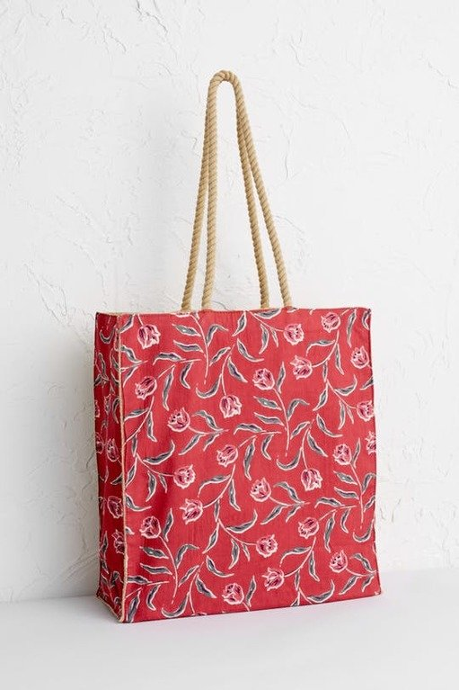 Seasalt Kitchen Garden Bag - Garden Tulip Umber