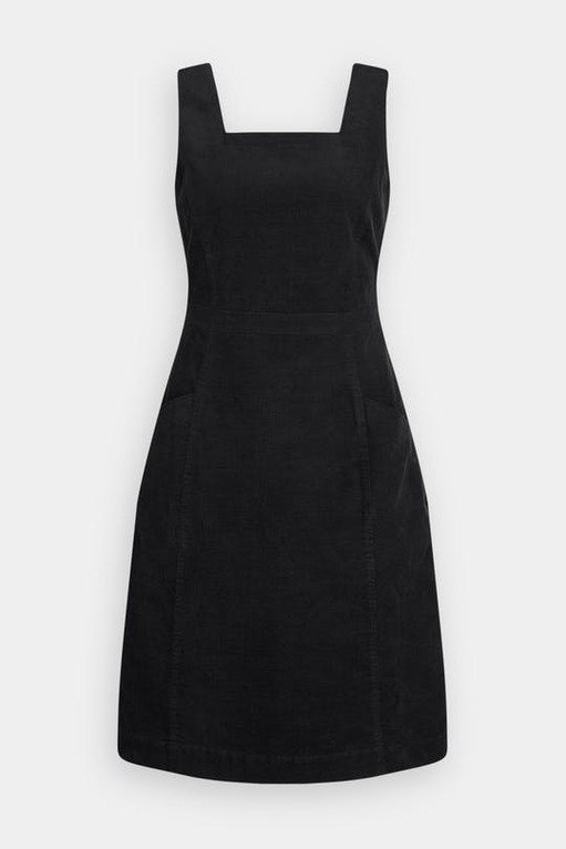 Seasalt Lodge Hill Pinafore Dress - Dark Night