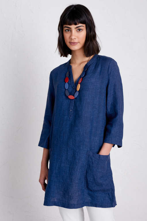 Seasalt May Tunic - Indigo Melange