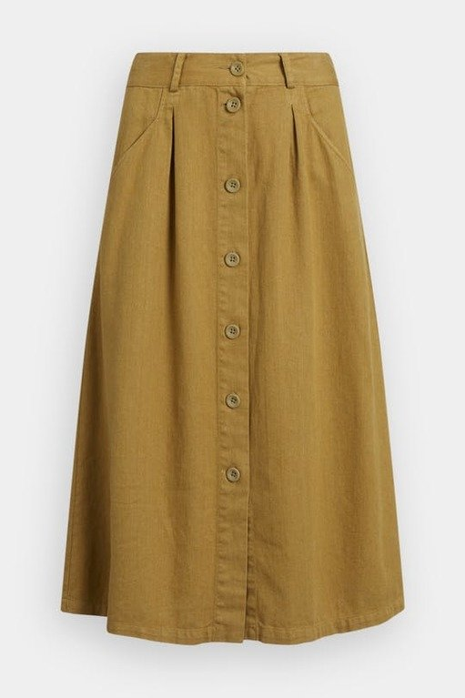 Seasalt Screen Test Skirt - Oak