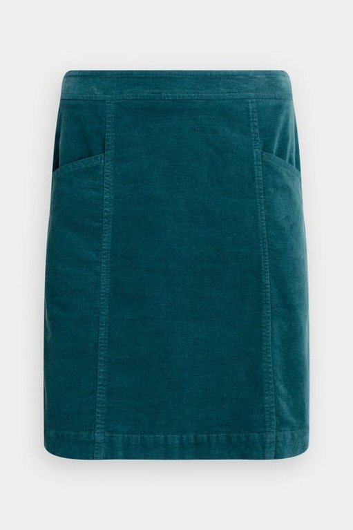 Seasalt Wave Worn Skirt - Dark Lake