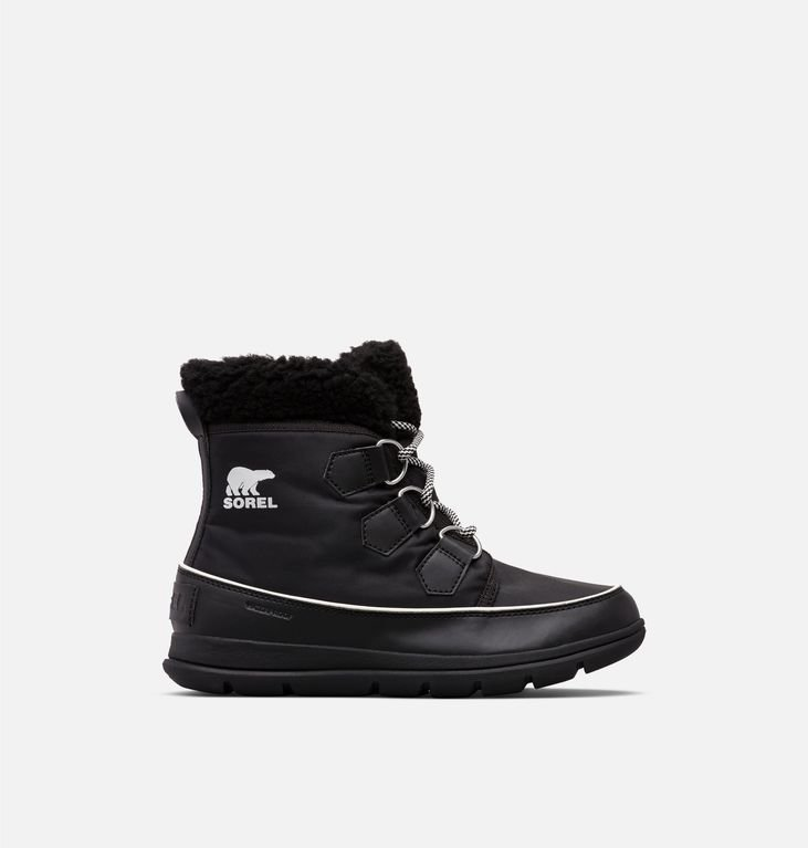 Sorel Explorer Carnival Boot - Black