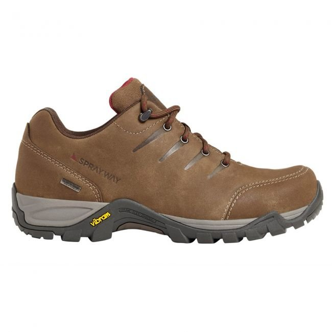 Sprayway Women's Girona Waterproof Walking Shoes - Brown