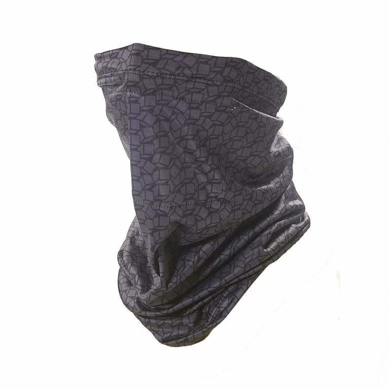 Eco Chic Snood Filter Pocket - Black Disrupted Cubes
