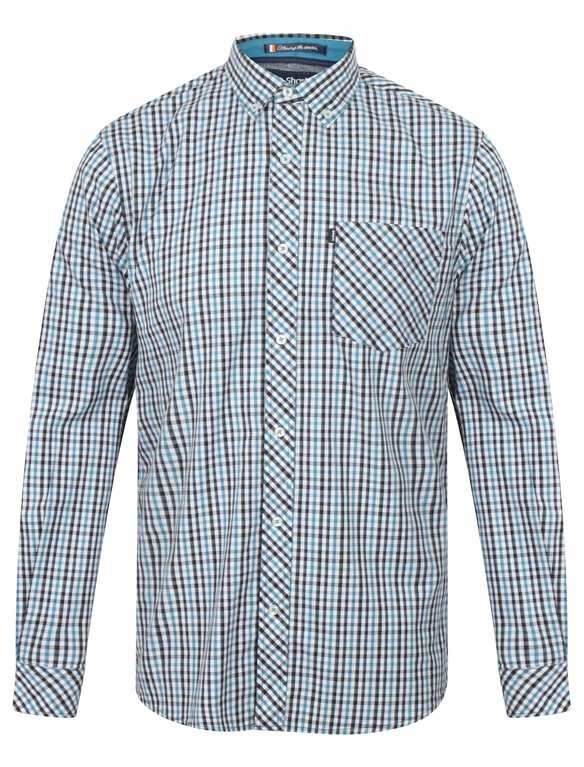 Le Shark Highfield Long Sleeve Shirt - Blue
