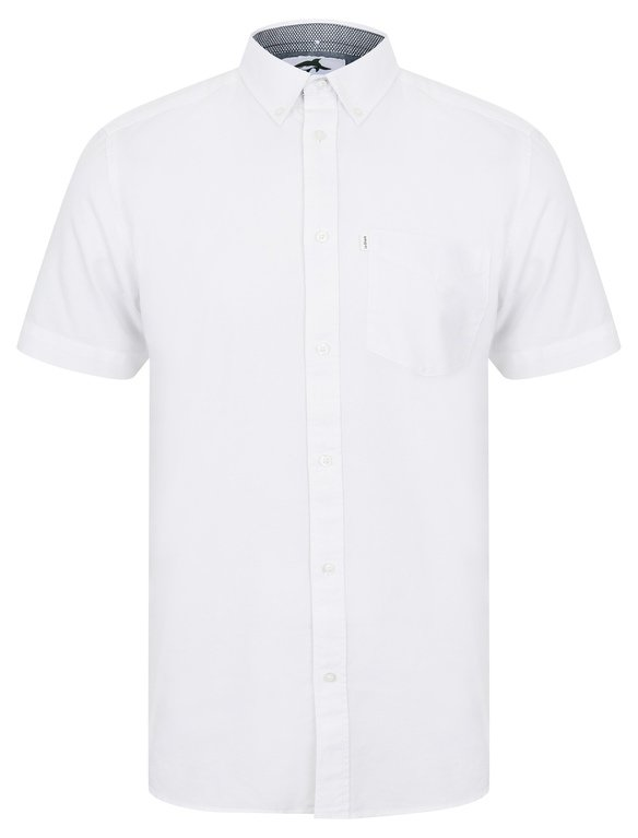 Le Shark Lisburn Short Sleeve Shirt - White