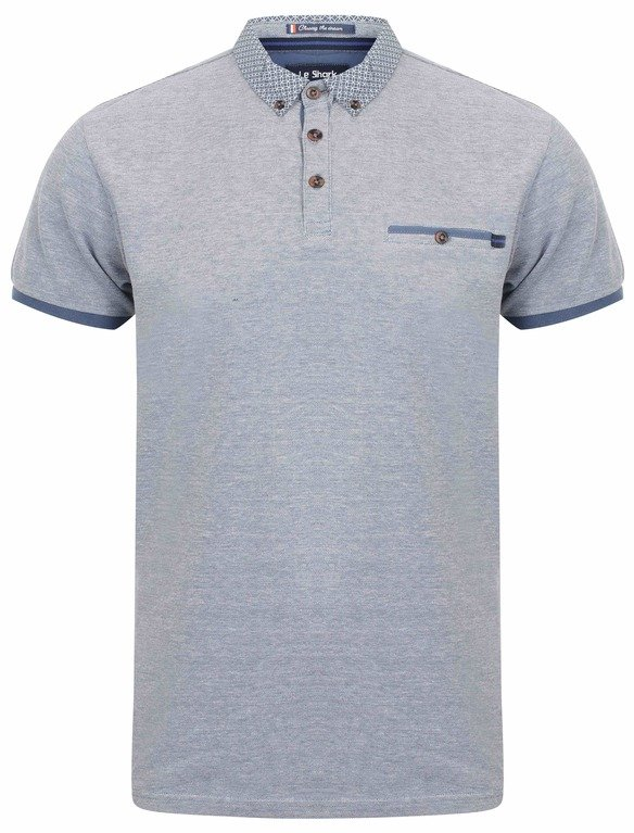 Le Shark Mall B/Eye Polo - Blue