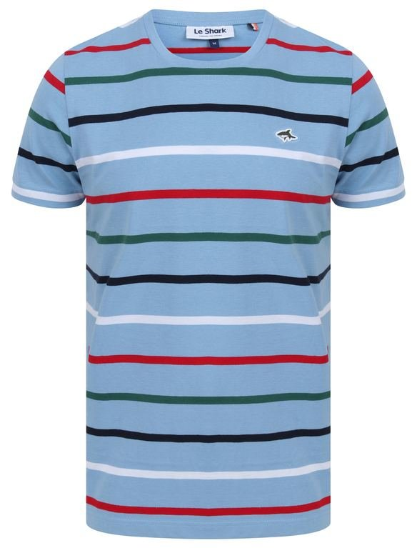 Le Shark Orchardson Stripe Tee - Blue