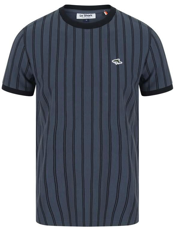 Le Shark Philips Horizontal Stripe Tee - Indigo