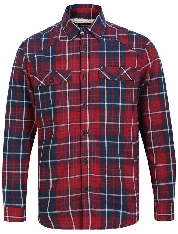 SRG Atwell Sherpa Lined Shirt - Red