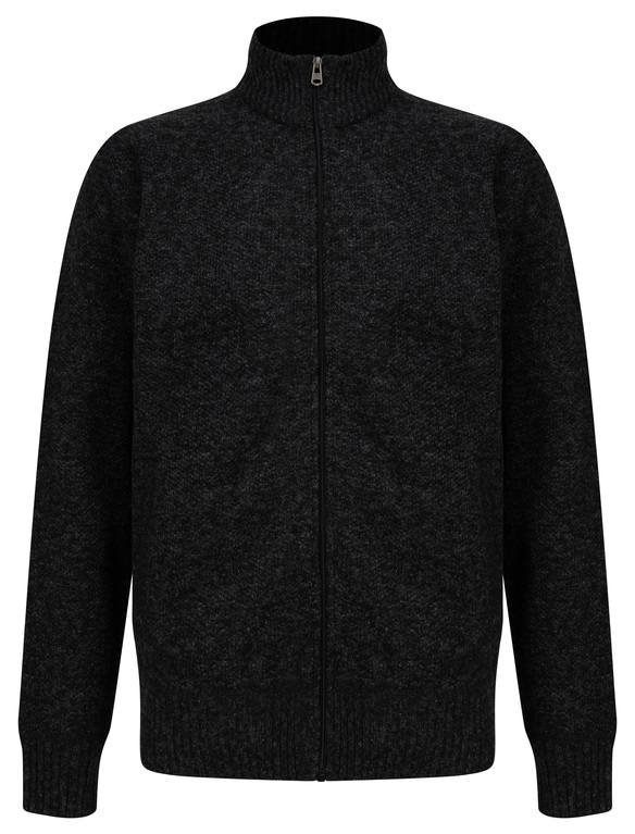 SRG Branwell Full Zip Knit - Black