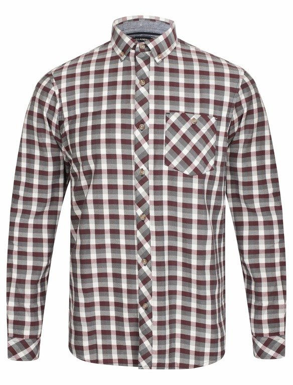 SRG Bridlington Check Shirt - Red
