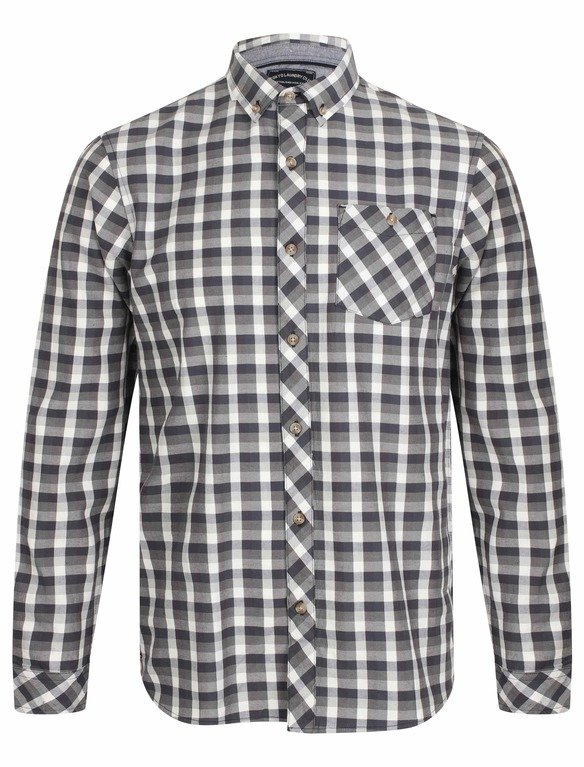 SRG Bridlington Check Shirt - Denim