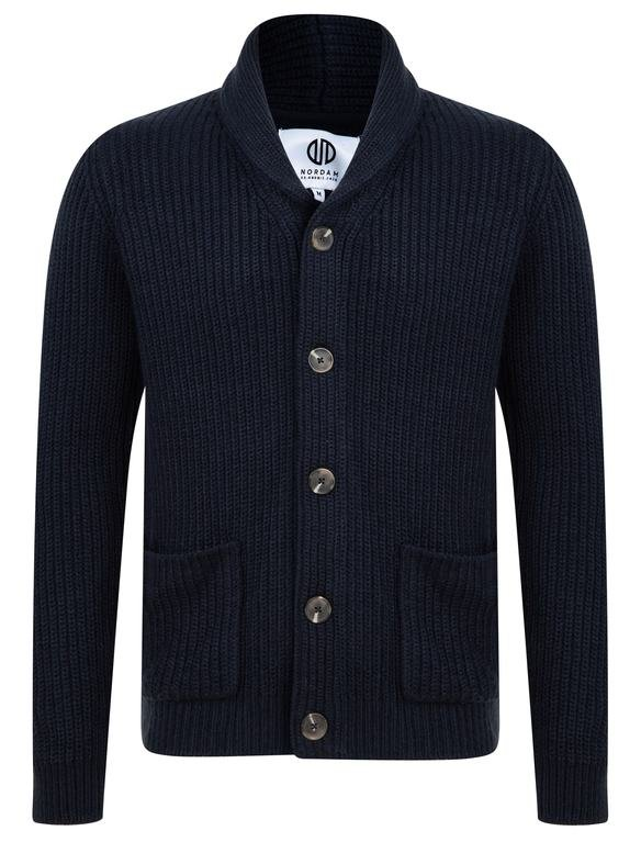 SRG Hatch Chunky Cardigan - Navy