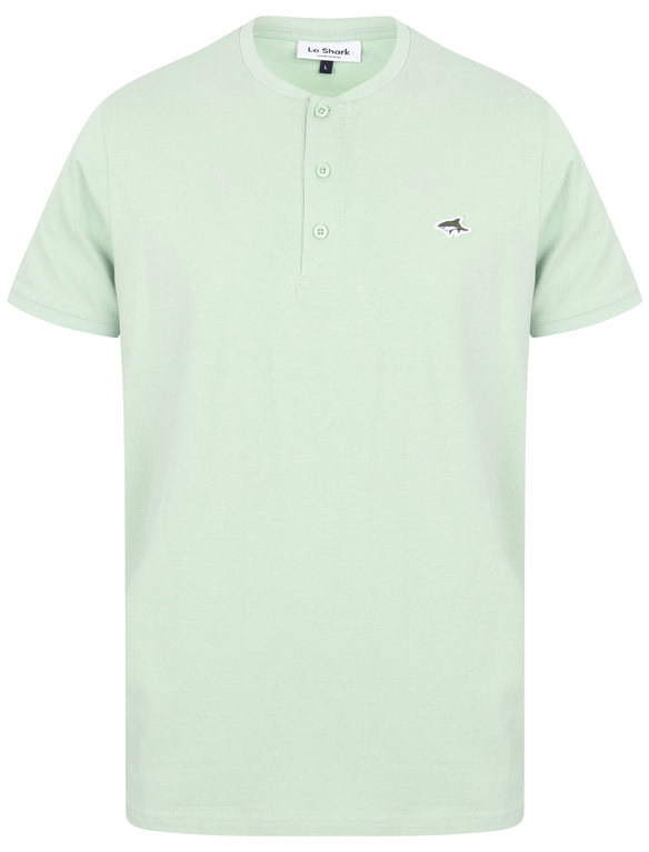 SRG Kingshold Button Neck Tee - Green