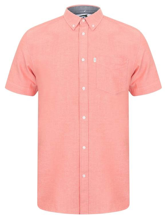 Le Shark Lisburn Short Sleeve Shirt - Peach