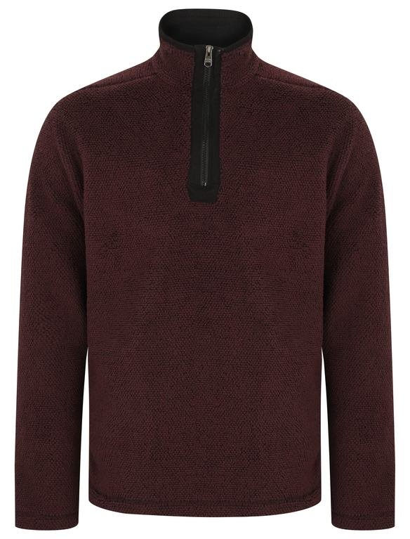 SRG Micro Bond 1/4 Fleece - Oxblood