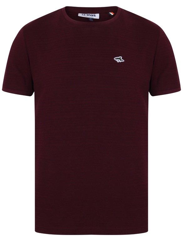 Le Shark Modbury Tex Tee - Wine