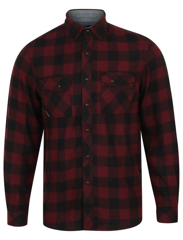 SRG Perez Flannel Shirt - Red