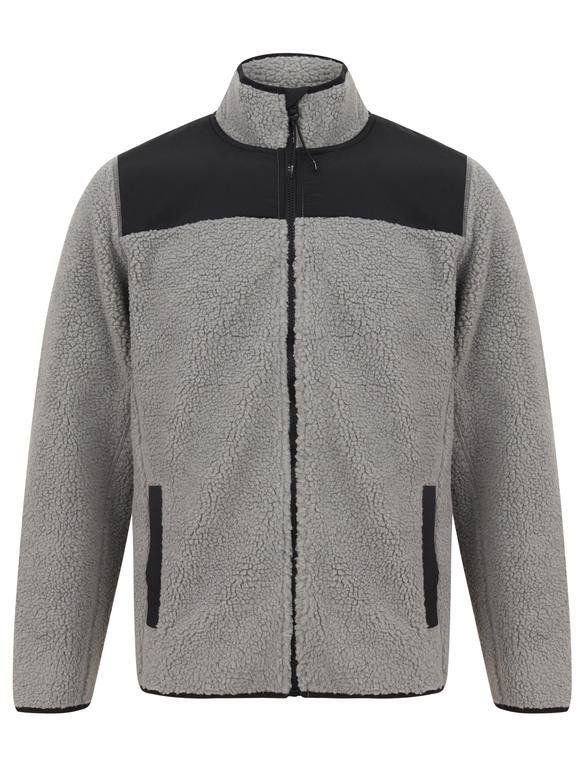 SRG Southwell Full Zip Fleece - Ghost Grey