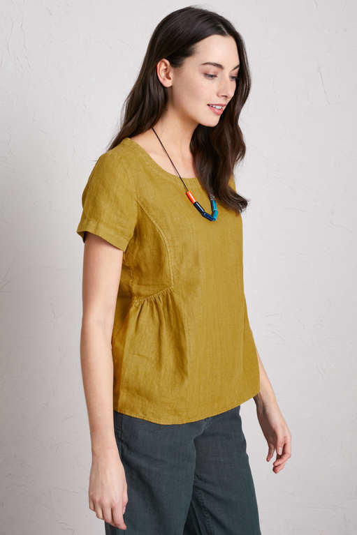 Seasalt Stone Worker Top - Pear