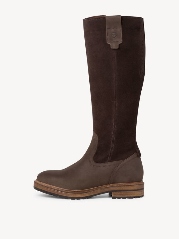 Tamaris Tall Boot 26622 - Mocca