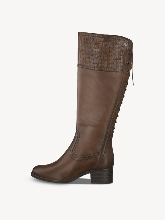 Tamaris Tall Boot 25543 - Cognac