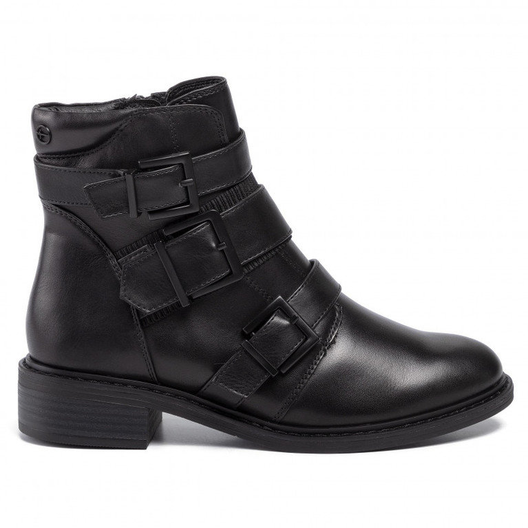 Tamaris Ankle Buckle 25053  - Black