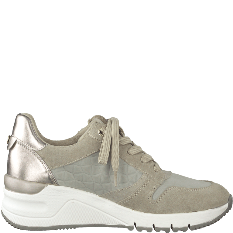 Tamaris Trainer Wedge 23702  - Taupe