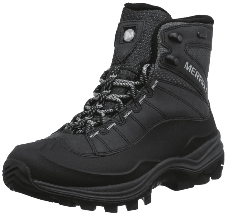 Merrell Thermo Chill Mid Waterproof Boot - Black