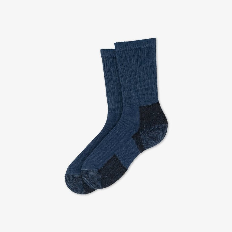 Thorlos Men's KX Hike Crew Socks  - Navy
