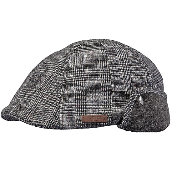 Barts Tobyas Cap - Light Grey Check